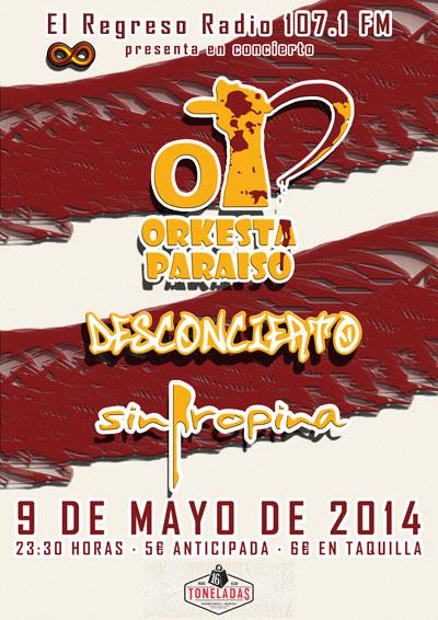Concierto 16 Toneladas | 9 de mayo